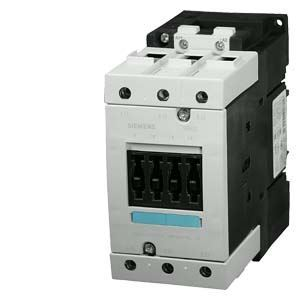Afbeelding van Siemens - CONTACTOR, AC-3 30 KW/400 V, DC 220 V, 3-POLE, SIZE S3, SCREW CONNECTION