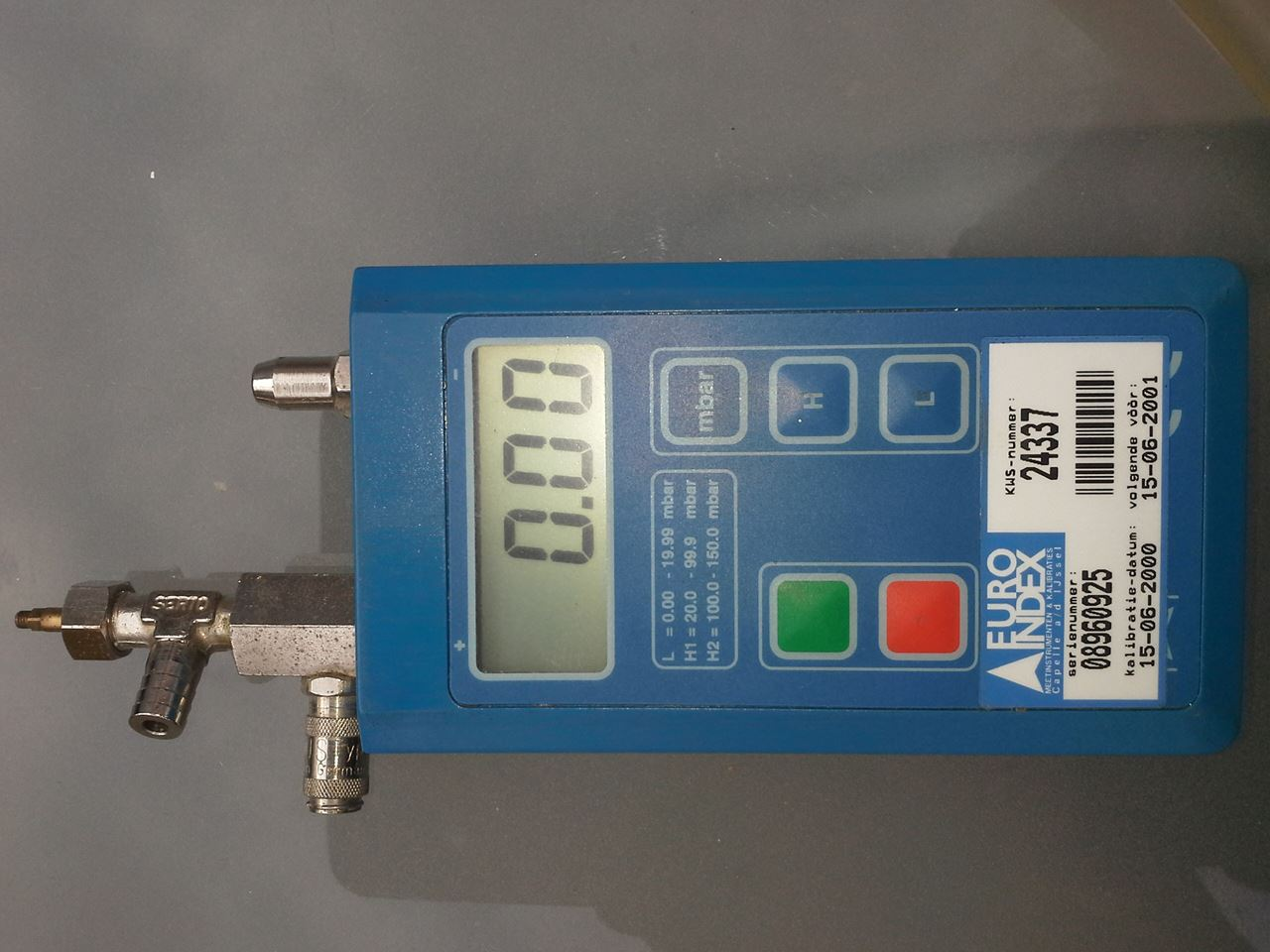 Euro index s2401 015a drukmeter 0 150mbar voor 89 00 incl for Ohrensessel 150 euro